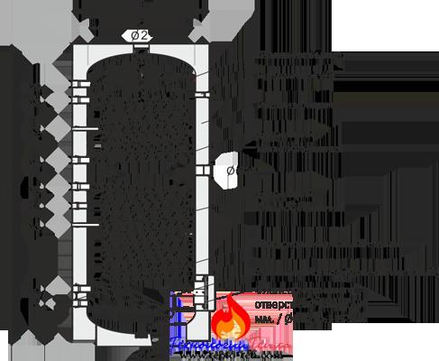 Схема бойлера Big Sol Partner
