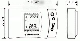 Комнатный термостат Евростер