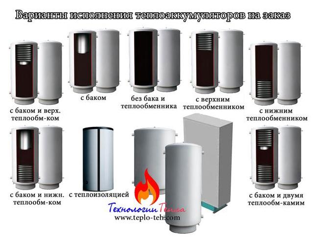 Теплоаккумуляторы на заказ